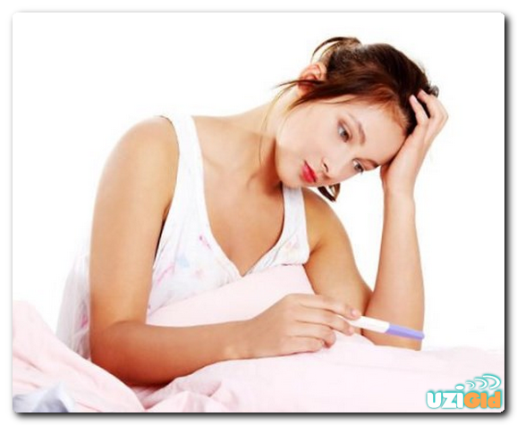 тест положительный а узи не показывает беременность